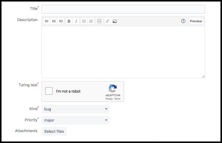 bitbucket issue tracker example
